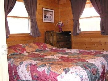Log Cabins at Mill Creek Resort on Table Rock Lake