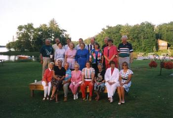 Family reunions at Lakewoods Resort.