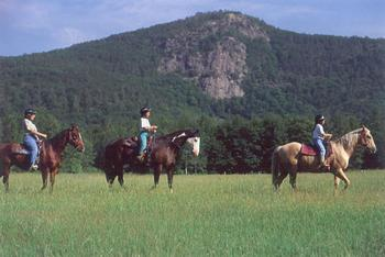 Horseback riding near The New England Inn & Lodge.