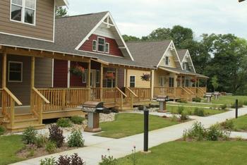 Cottages at Arrowwood Resort.