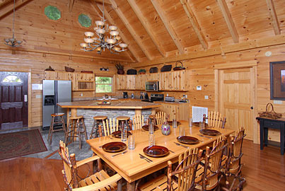 Sevierville Vacation Rentals Cabin Above The Smokies