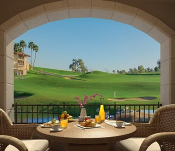Romantic dining at Arizona Grand Resort.