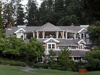 Exterior view of Meadowood Napa Valley.