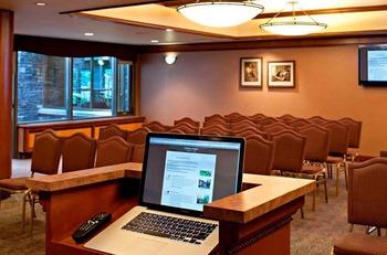Conference room at Delta Banff Royal Canadian Lodge.