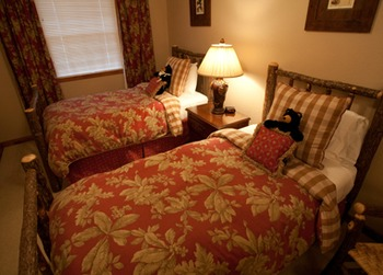 Guest room at Chippewa Retreat Resort.