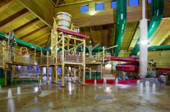 Waterpark at Holiday Inn Express Brainerd
