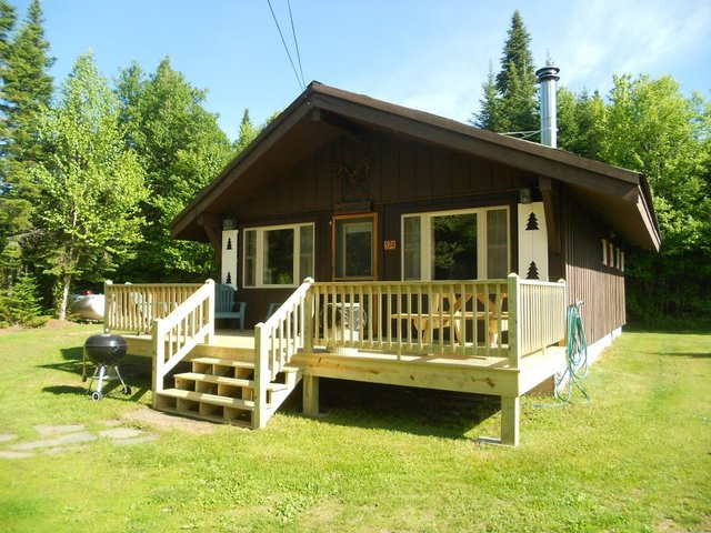 Tall timber lodge log cabins pittsburg nh resort Log homes in new hampshire
