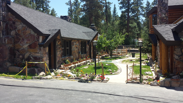 Exterior view of Embers Lodge.