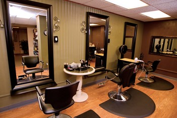 Spa salon at Geneva National Resort.