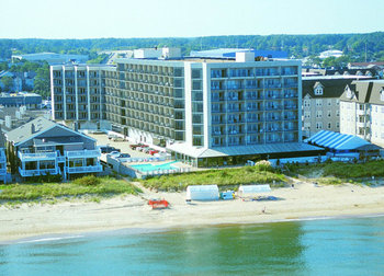 Exterior view of Virginia Beach Resort Hotel.
