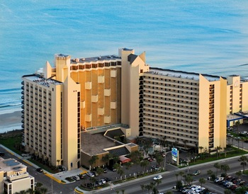 Exterior view of Ocean Reef Resort.