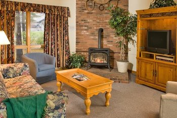 Condo interior at Attitash Mountain Village Resort.