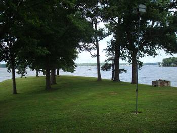 Lake view at Mallard Point Resort.
