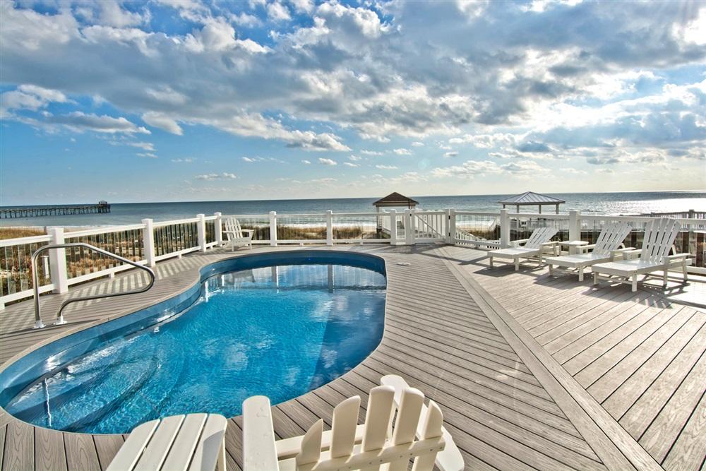 Rental pool at Bluewater Real Estate.