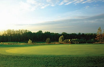 Golf Green at Nemacolin Woodlands Resort