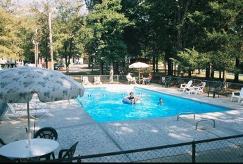 Outdoor pool at Indian Trails Resort.