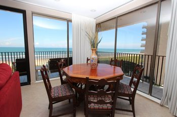 Rental dining area at Seabreeze 1.