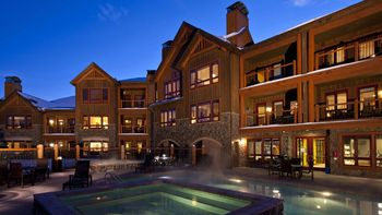 Exterior view of BlueSky Breckenridge.