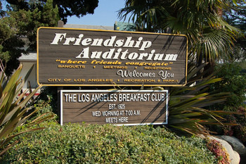 Exterior view of L A Breakfast Club.