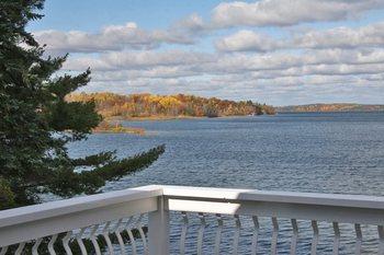 Beautiful view at Blue Water Lodge.