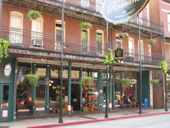 Exterior view of New Orleans Hotel & Spa.