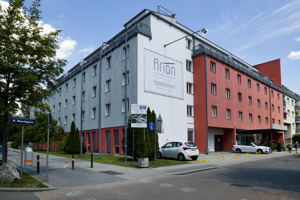 Exterior view of Appartementhotel Vienna.