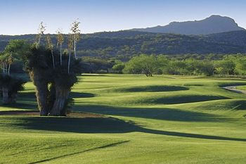 Golf course at Rancho De Los Caballeros.