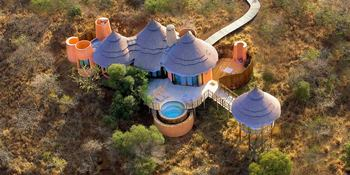 Exterior view of Thanda Private Game Reserve.