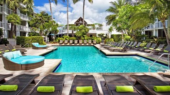 Outdoor pool at The Westin Key West Resort.