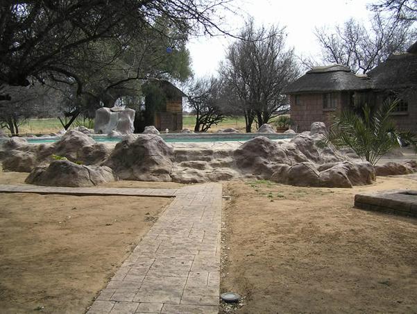 Exterior view of Sandhurst Safaris.