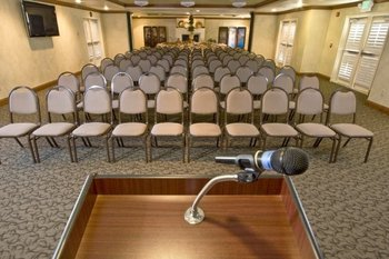Conference room at Dry Creek Inn Hotel.