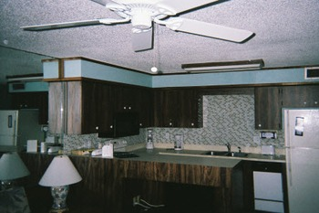 Kitchen at Englewood Beach & Yacht Club.