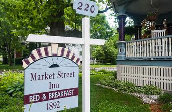 Exterior view of Market Street Inn.