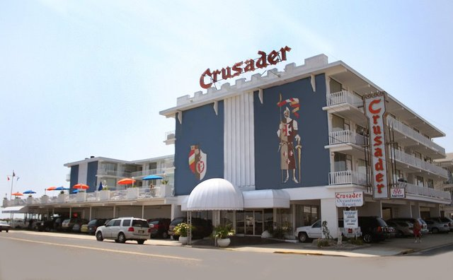 The Crusader Oceanfront Family Resort Wildwood Crest Nj