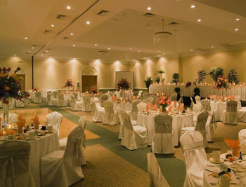 Wedding reception at Sea Trail Resort.