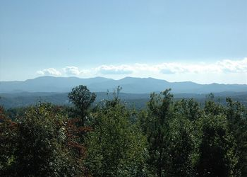 Mountain view at Enchanted Mountain Retreats, Inc.