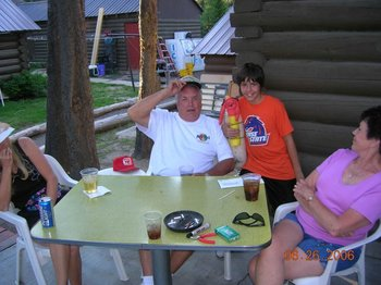 Family at North Shore Lodge & Resort.