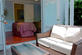 Spa services at Sunset Key Guest Cottages.