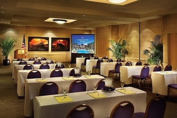 Conference room at Gainey Suites Hotel.