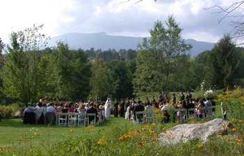 Wedding at Stowehof Inn & Resort.