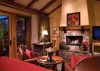 Cabin Living Room at Sunriver Resort