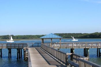 Dock View at Bluewater Resort