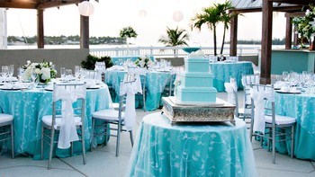 Wedding reception at The Westin Key West Resort.