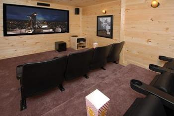 Movie Theater at Accommodations by Parkside Resort