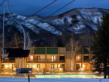 Ski lift at Inn at Aspen.