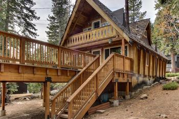 Vacation rental exterior at Vacasa Rentals Lake Tahoe.