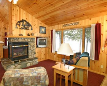 Cabin Living Room at Gunflint Lodge