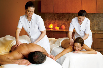 Couples Massage at Pillar and Post