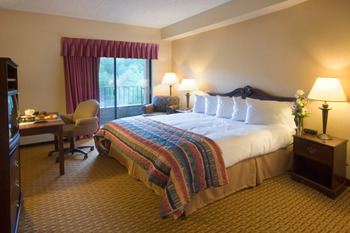 Guest Room at the Chateau Resort and Conference Center