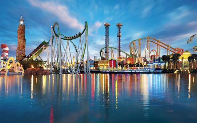 Universal Studios near Floridays Resort Orlando.